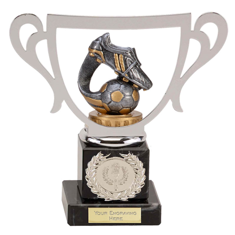 19cm Boot & Ball Wave Figure on Football Galaxy Award