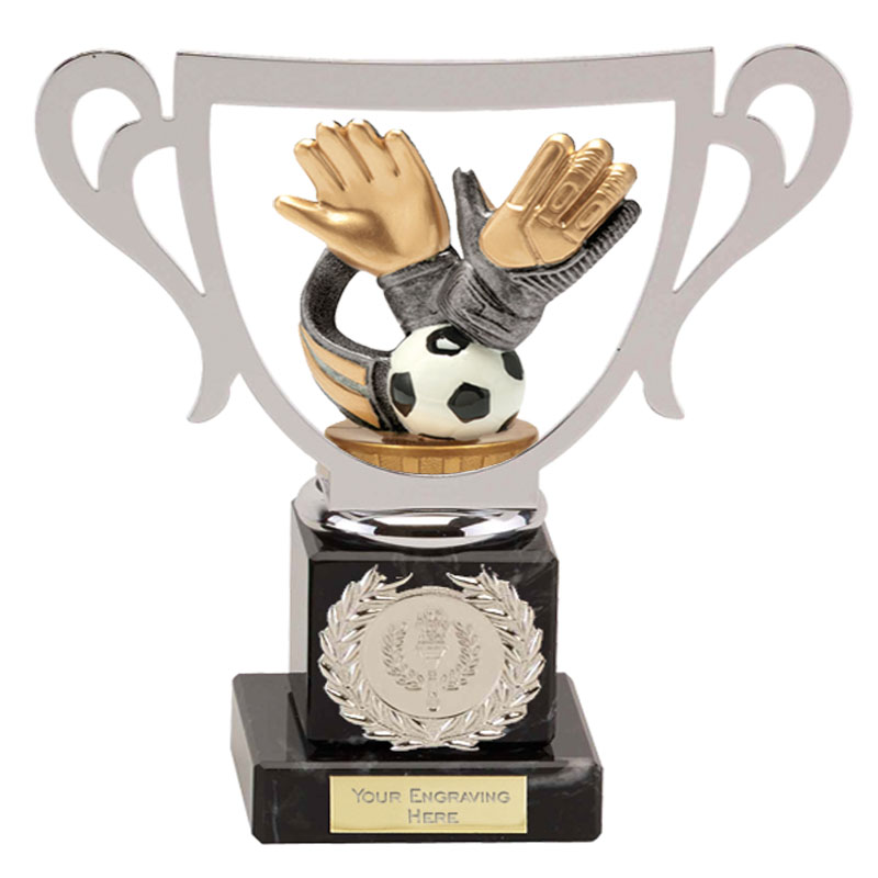 19cm Keeper Glove Figure On Football Galaxy Award