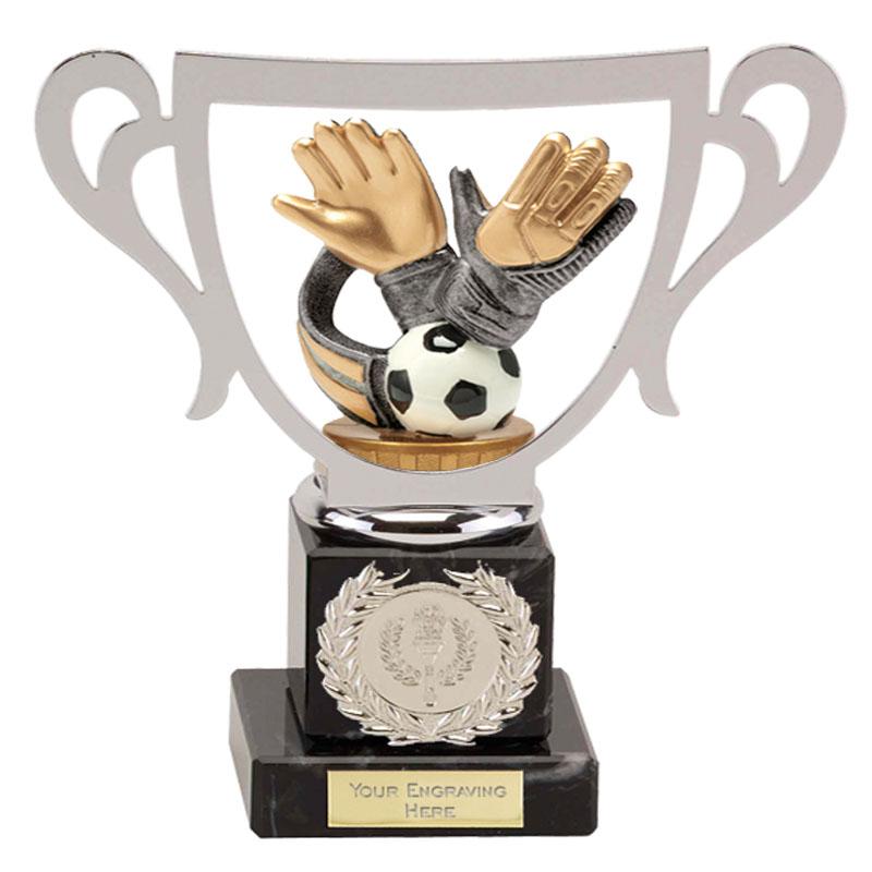 19cm Keeper Glove Figure on Football Galaxy Award