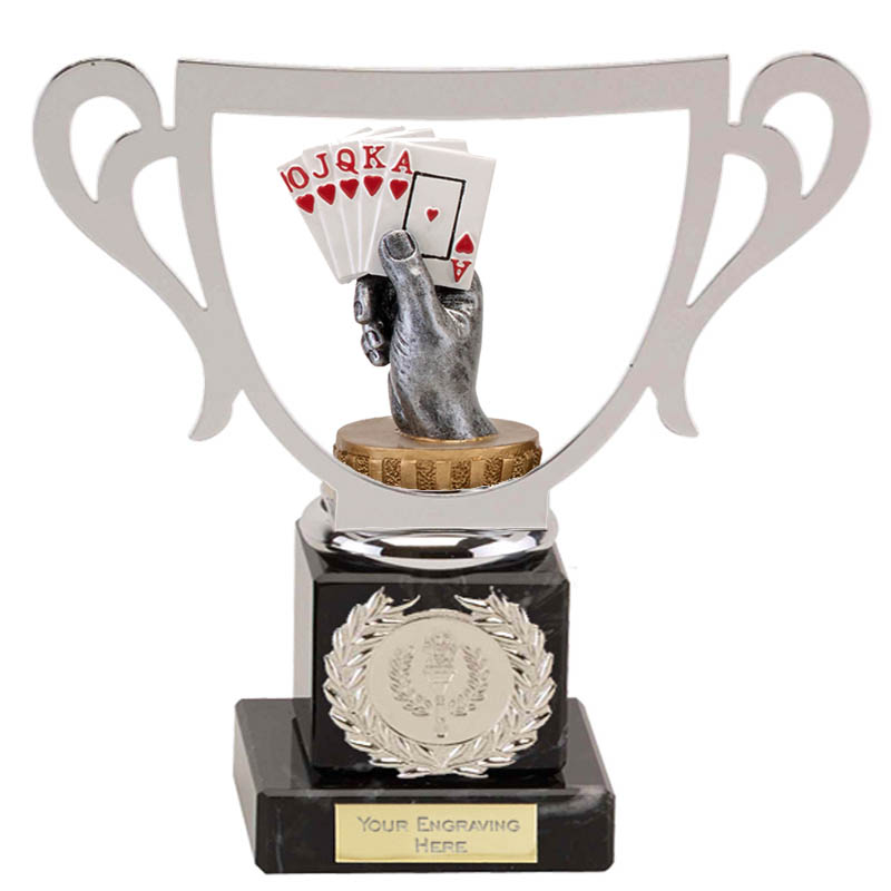 19cm Playing Cards Figure On Galaxy Award
