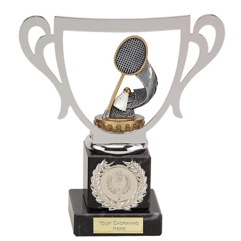 19cm Badminton Figure On Galaxy Award