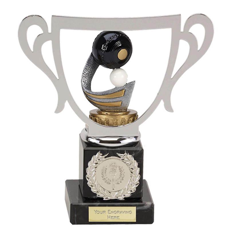 19cm Lawn Bowls Figure On Bowling Galaxy Award