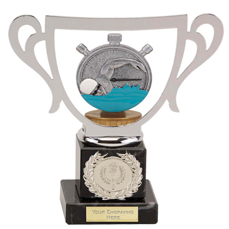 19cm Swimming Figure on Swimming Galaxy Award
