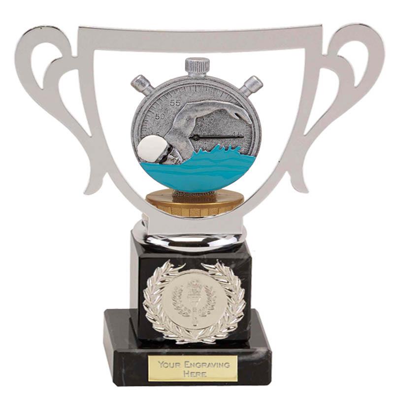 19cm Swimming Figure On Galaxy Award