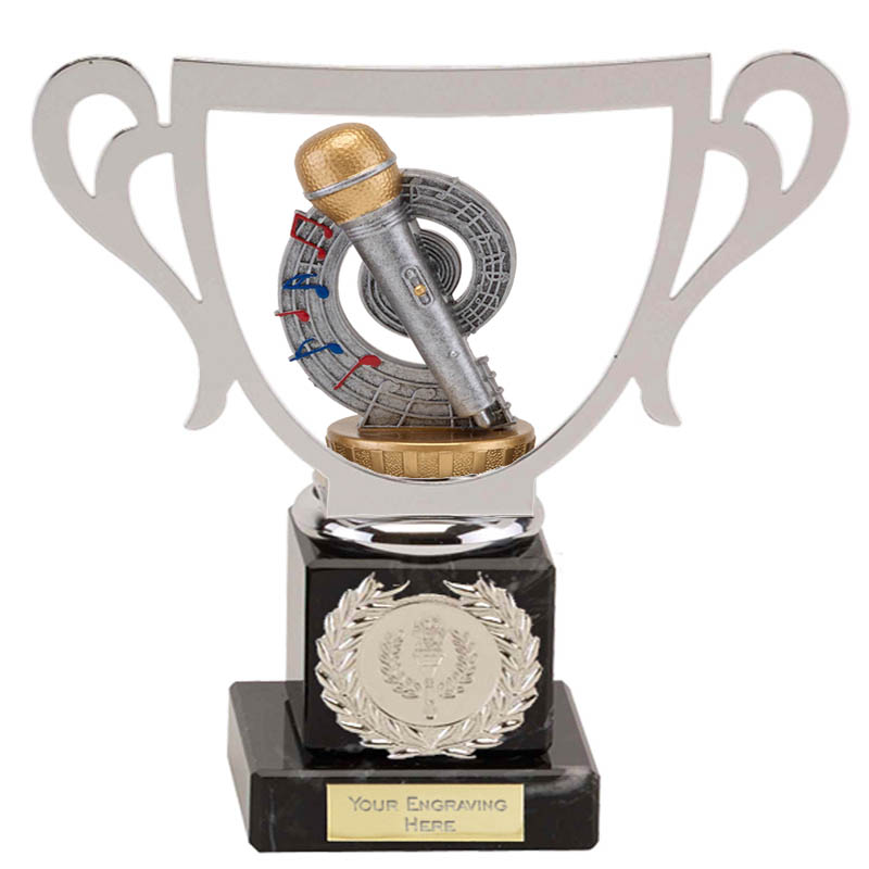 19cm Microphone Place Figure on Music Galaxy Award