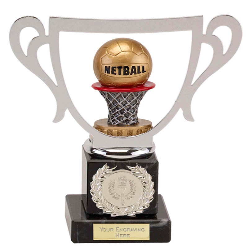 19cm Netball Figure on Galaxy Award