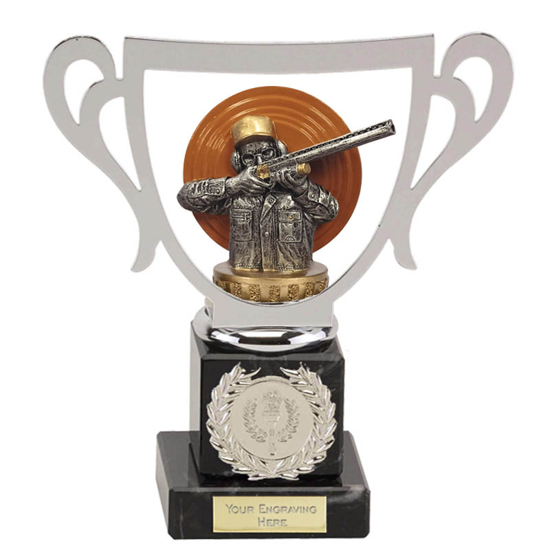 19cm Clay Shooting Figure on Shooting Galaxy Award