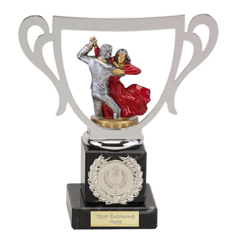 19cm Ballroom Dancing Figure on Dance Galaxy Award