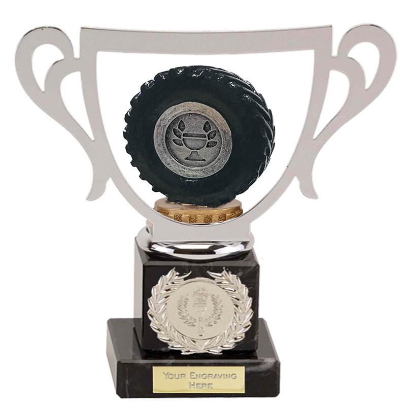 19cm Tractor Tyre Figure On Galaxy Award
