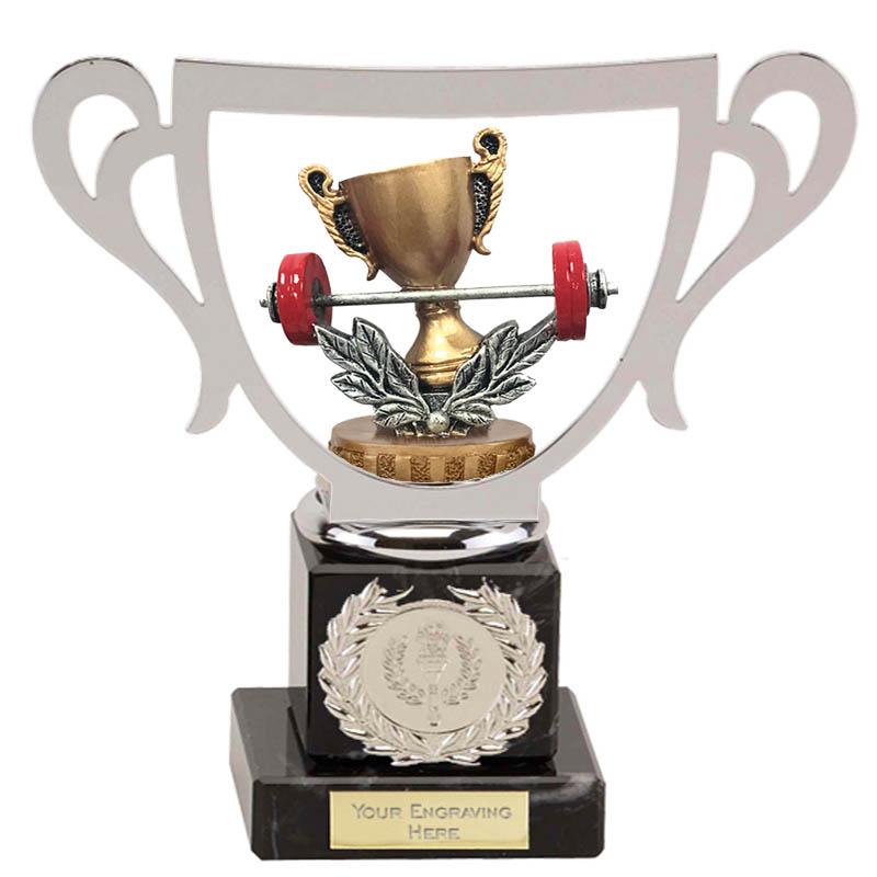 19cm Weightlifting Figure On Galaxy Award