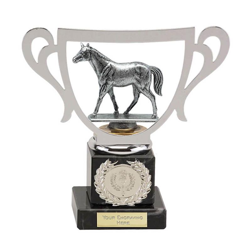 19cm Quarter Horse Figure on Horse Riding Galaxy Award