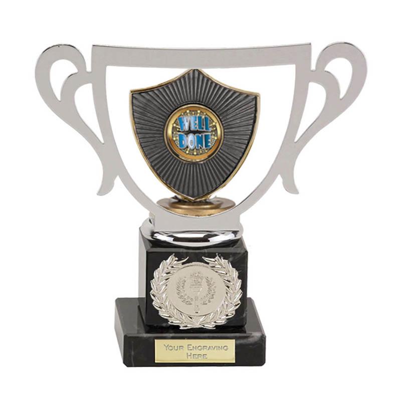 19cm Centre Shield Figure on Galaxy Award