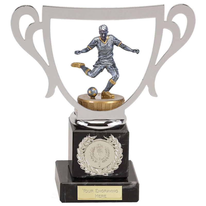 19cm Footballer Male Figure On Galaxy Award