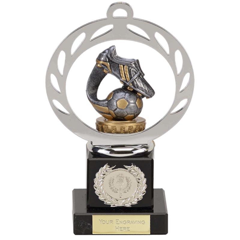 21cm Boot & Ball Wave Figure on Football Galaxy Award
