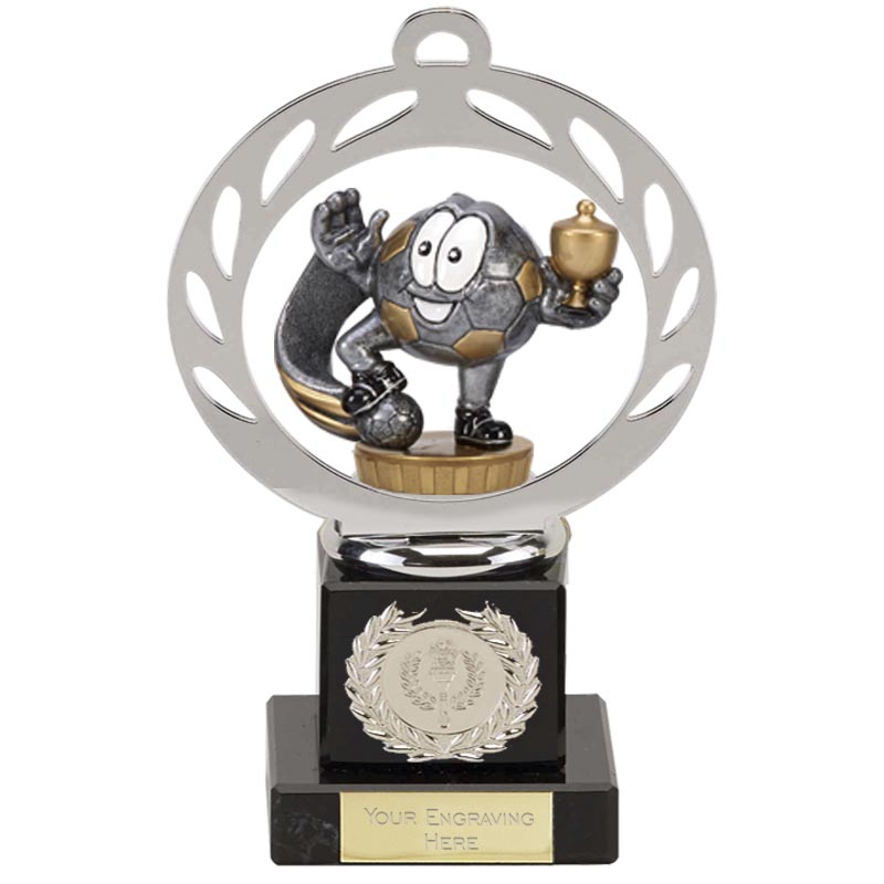 21cm Football Figure On Galaxy Award