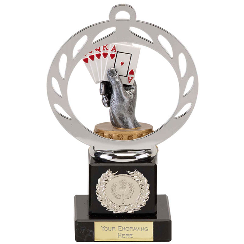 21cm Playing Cards Figure On Galaxy Award