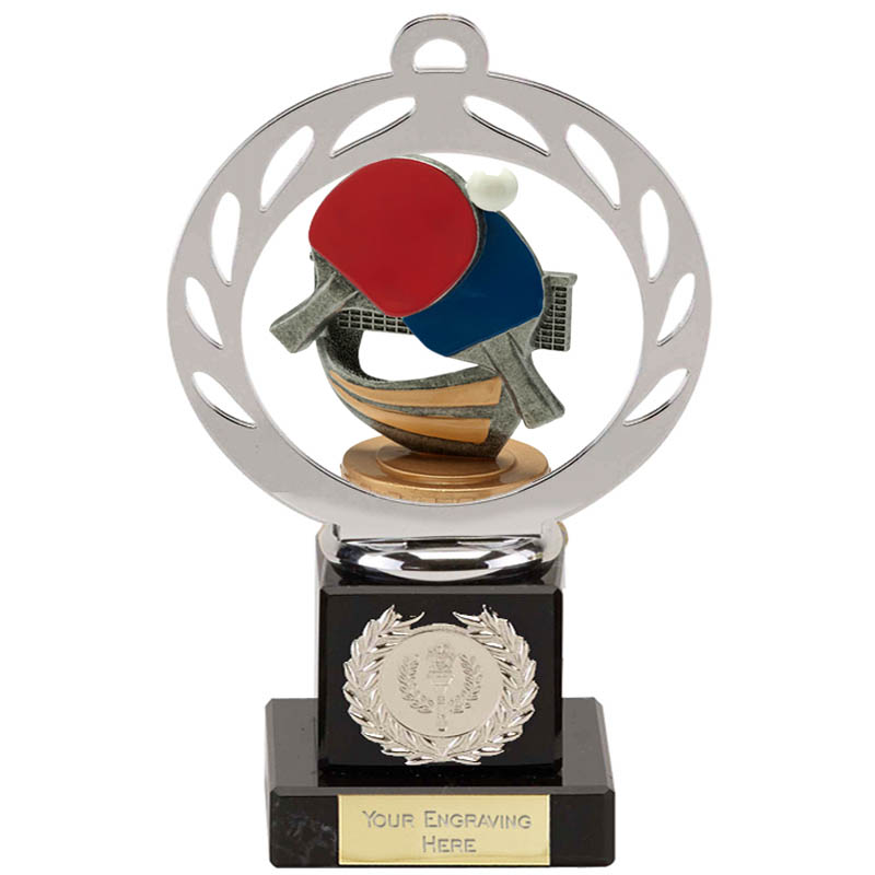21cm Table Tennis Figure On Galaxy Award