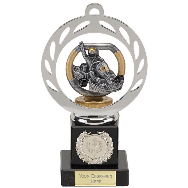 21cm Go-Kart Figure On Motorsports Galaxy Award