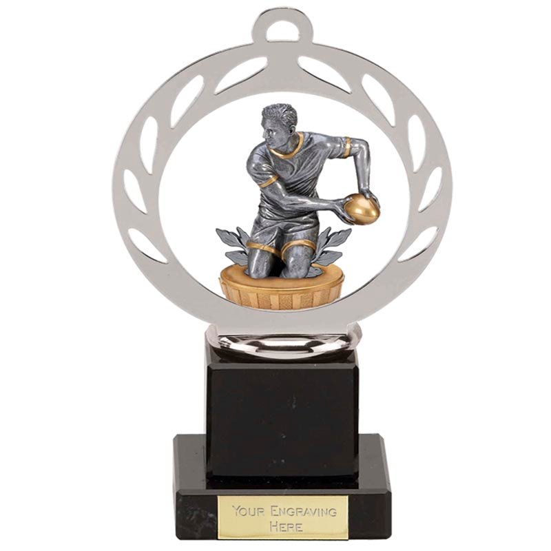 21cm Rugby Figure on Rugby Galaxy Award