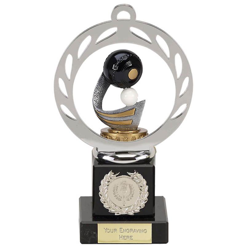 21cm Lawn Bowls Figure On Bowling Galaxy Award