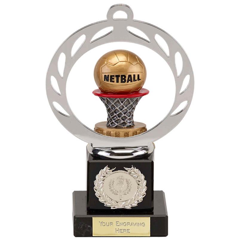 21cm Netball Figure on Galaxy Award