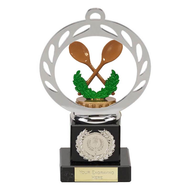 21cm Wooden Spoon Figure On Galaxy Award
