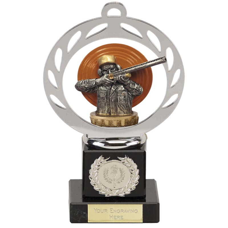 21cm Clay Shooting Figure on Shooting Galaxy Award