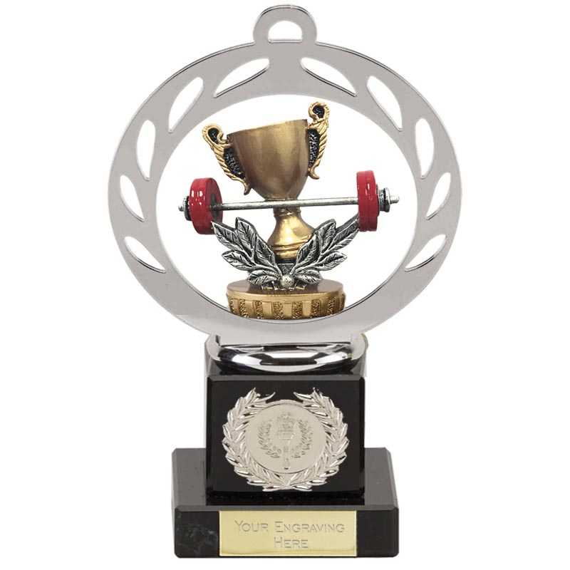 21cm Weightlifting Figure On Galaxy Award