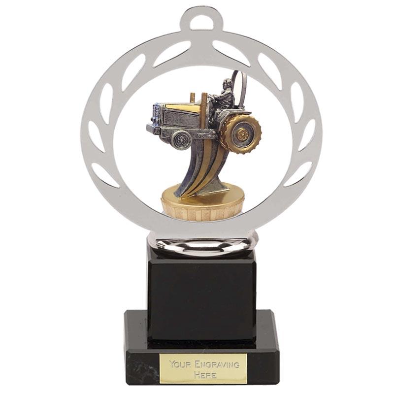 21cm 3D Tractor Figure On Galaxy Award