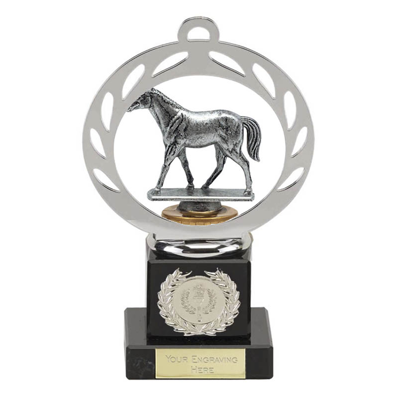 21cm Quarter Horse Figure on Horse Riding Galaxy Award