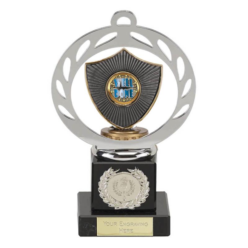 21cm Centre Shield Figure on Galaxy Award