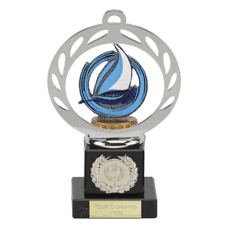21cm sailing figure on Galaxy Award
