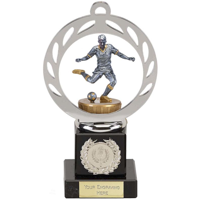 21cm Footballer Male Figure on Football Galaxy Award