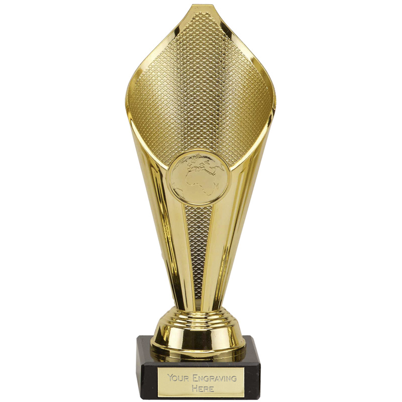 9 Inch Gold Flame Eternal Trophy Cup