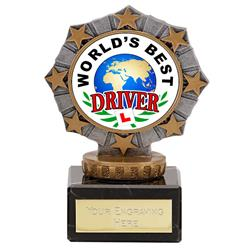 Worlds Best Driver Star Border Award