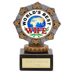 Worlds Best Wife Star Border Award