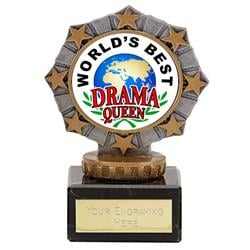 Worlds Best Drama Queen Star Border Award