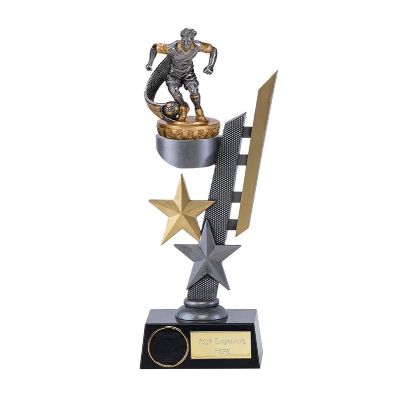 24cm Football Figure On Arena Award