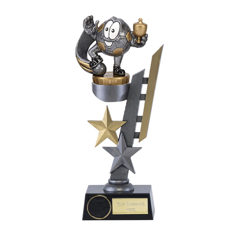24cm Football Figure On Arena Award