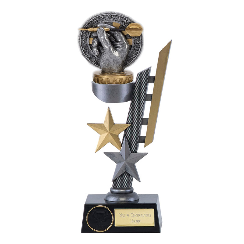 24cm Darts Figure On Arena Award