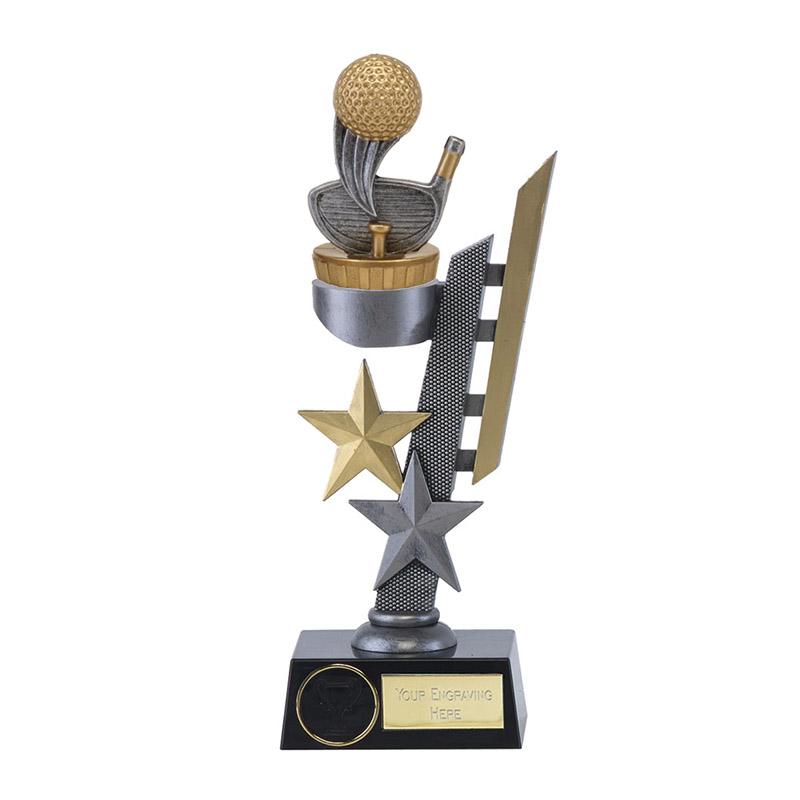 24cm Golf Figure On Golf Arena Award