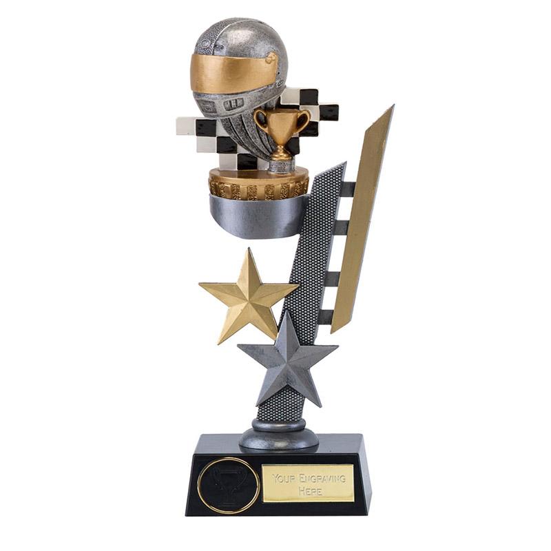 24cm Motorsports Neutral Figure On Arena Award