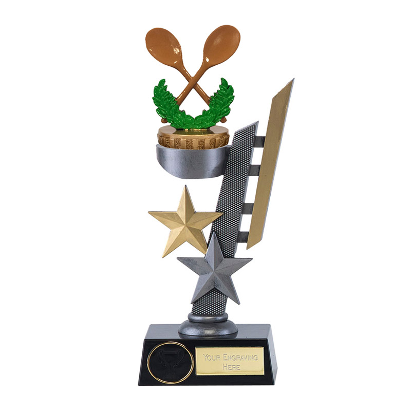 24cm Wooden Spoon Figure on Arena Award