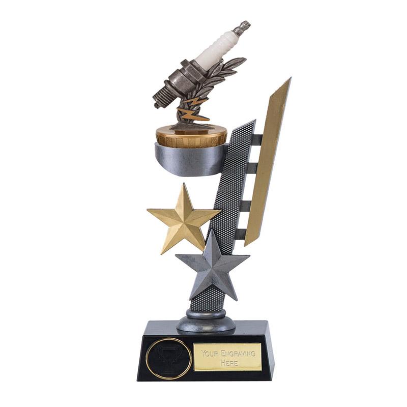 24cm Spark Plug Figure on Motorsports Arena Award