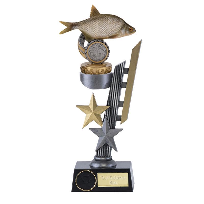 24cm Fish Bream Figure on Fishing Arena Award