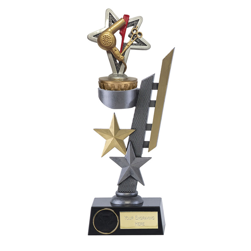 24cm Hairdressing Figure On Arena Award