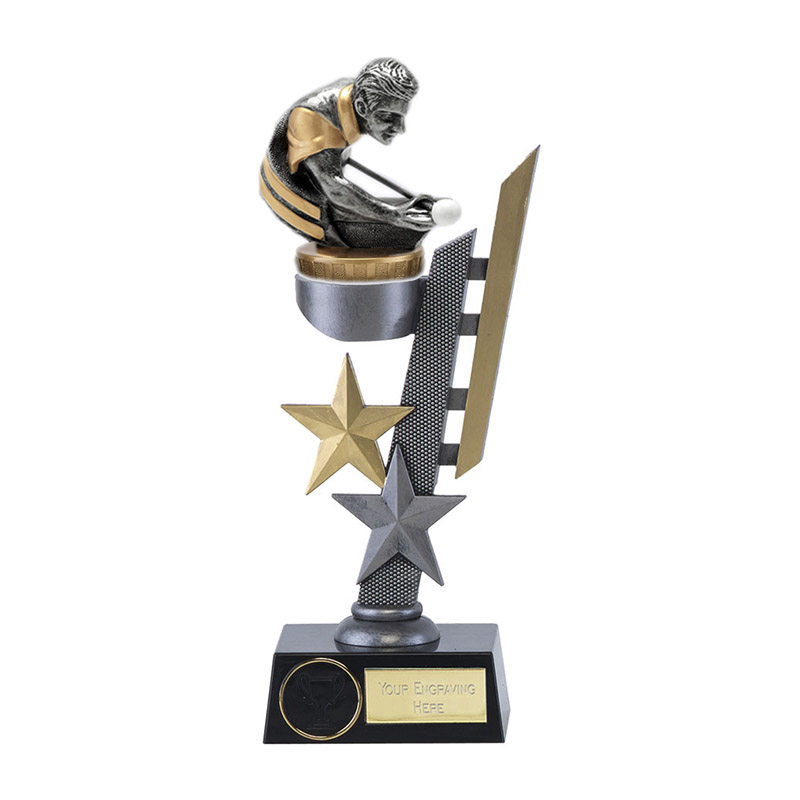 26cm Snooker/Pool Figure on Snooker & Pool Arena Award