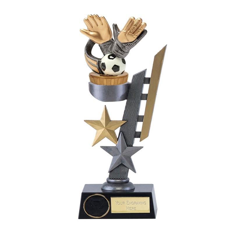 26cm Keeper Glove Figure on Football Arena Award