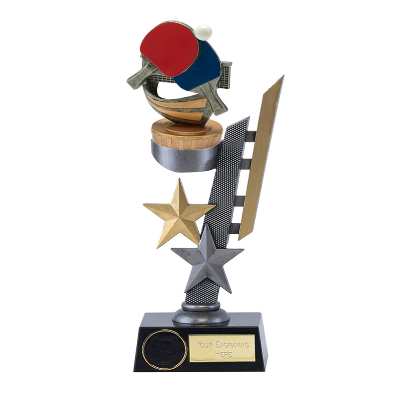 26cm Table Tennis Figure on Table Tennis Arena Award