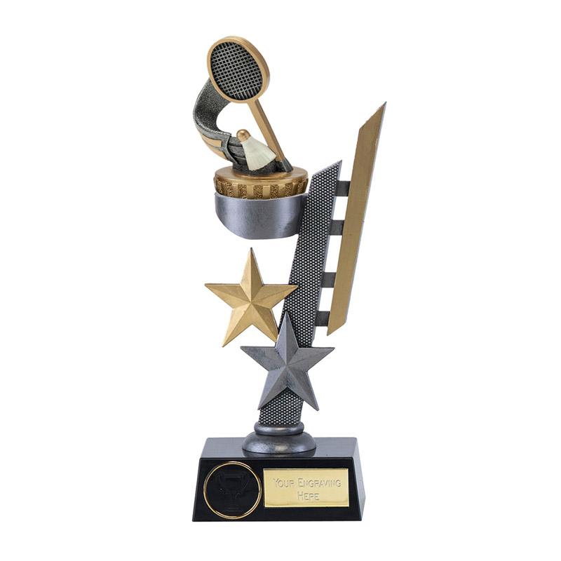 26cm Badminton Figure On Arena Award